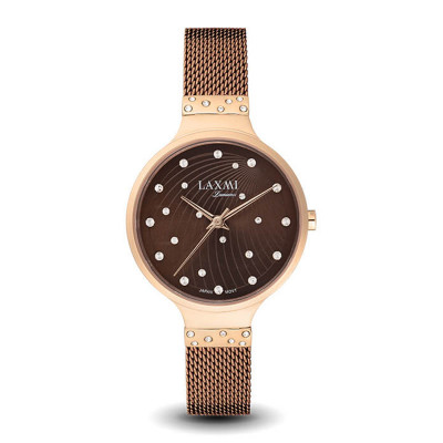 ساعت مچی زنانه اصل | برند لاکسمی | مدل  laxmi 8037-3