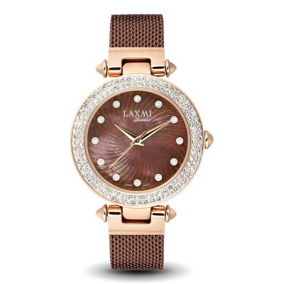 ساعت مچی زنانه اصل | برند لاکسمی | مدل  laxmi 8062-5