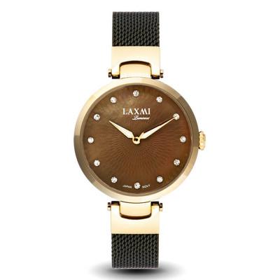 ساعت مچی زنانه اصل | برند لاکسمی | مدل  laxmi 8073-4