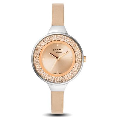 ساعت مچی زنانه اصل | برند لاکسمی | مدل  laxmi 8075-1