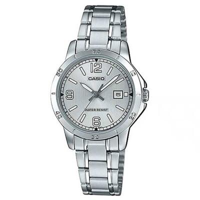 ساعت مچی زنانه اصل | برند کاسیو | مدل LTP-V004D-7B2UDF