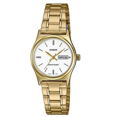 ساعت مچی زنانه اصل | برند کاسیو | مدل LTP-V006G-7BUDF