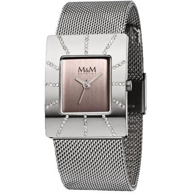 ساعت مچی زنانه اصل  برند ام اند ام   مدل M11853-125