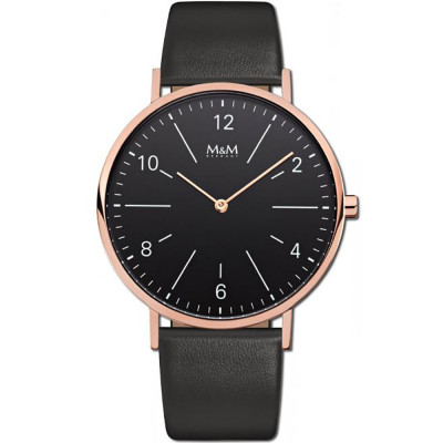 ساعت مچی مردانه اصل |برند ام اند ام | مدل M11870-496