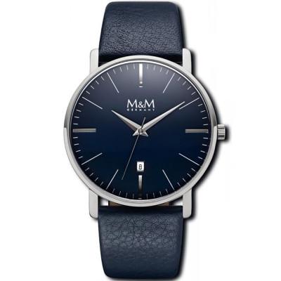 ساعت مچی مردانه اصل |برند ام اند ام | مدل M11928-848