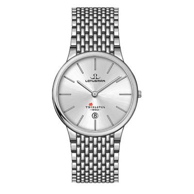 ساعت مچی مردانه اصل | برند لوتوسمن | مدل M809ASSW
