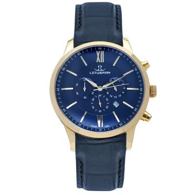 ساعت مچی مردانه اصل | برند لوتوسمن | مدل M904PGUU