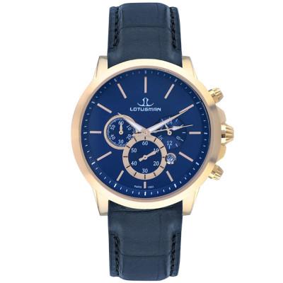 ساعت مچی مردانه اصل | برند لوتوسمن | مدل M905PGUU