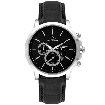 ساعت مچی مردانه اصل | برند لوتوسمن | مدل M905PSBB