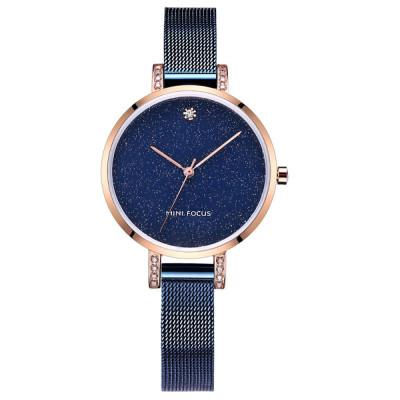 ساعت مچی زنانه اصل | برند مینی فوکوس | مدل MF0160l.01