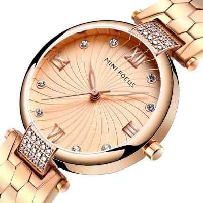 ساعت مچی زنانه اصل | برند مینی فوکوس | مدل MF0186.04