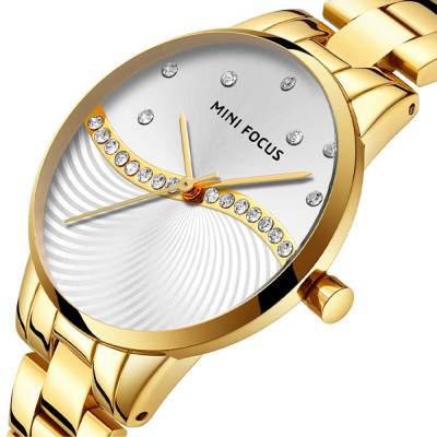 ساعت مچی زنانه اصل | برند مینی فوکوس | مدل MF0263.01