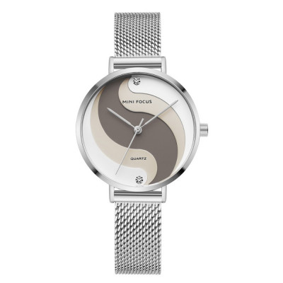 ساعت مچی زنانه اصل   برند مینی فوکوس   مدل MF0291l.02