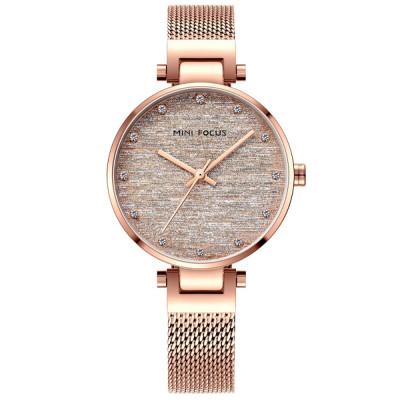 ساعت مچی زنانه اصل | برند مینی فوکوس | مدل MF0328l.03