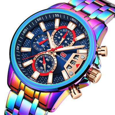 ساعت مچی مردانه اصل | برند مینی فوکوس | مدل MF0352.02