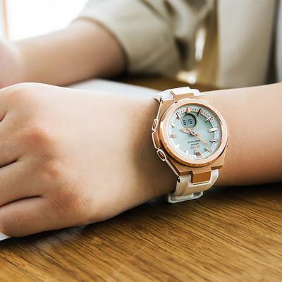 ساعت مچی زنانه اصل | برند کاسیو | مدل MSG-S200G-4ADR