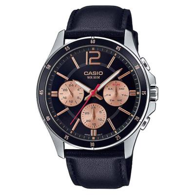 ساعت مچی مردانه اصل | برند کاسیو | مدل MTP-1374L-1A2VDF