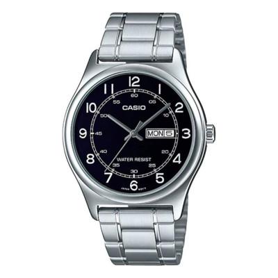 ساعت مچی مردانه اصل | برند کاسیو | مدل MTP-V006D-1B2UDF