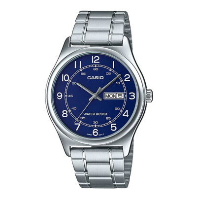 ساعت مچی مردانه اصل | برند کاسیو | مدل MTP-V006D-2BUDF