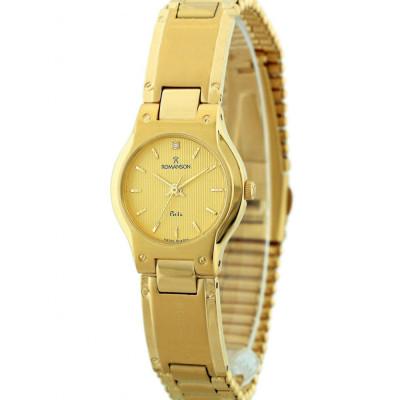 ساعت مچی زنانه اصل | برند رومانسون | مدل NM0542LL1GA51G