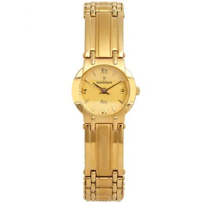 ساعت مچی زنانه اصل | برند رومانسون | مدل NM0545LL1GA51G