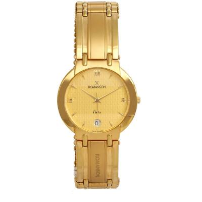 ساعت مچی زنانه اصل | برند رومانسون | مدل NM0545MM1GA51G