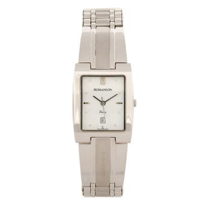 ساعت مچی زنانه اصل   برند رومانسون   مدل NM0548MM1WA11W