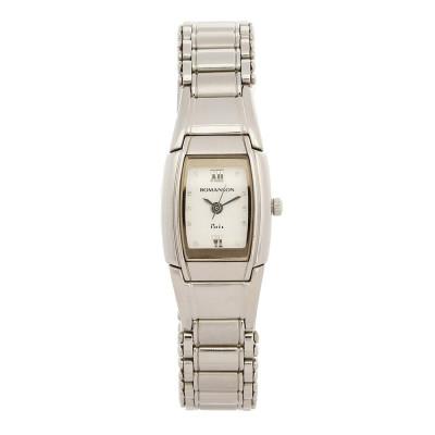 ساعت مچی زنانه اصل | برند رومانسون | مدل NM3511LL1WAS2W