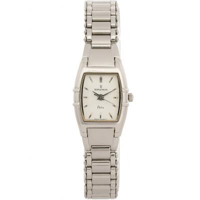 ساعت مچی زنانه اصل | برند رومانسون | مدل NM4509LL1WAS2W