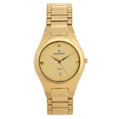 ساعت مچی مردانه اصل | برند رومانسون | مدل NM7621MM1GA81G