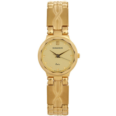 ساعت مچی زنانه اصل   برند رومانسون   مدل NM9556LL1GA81G