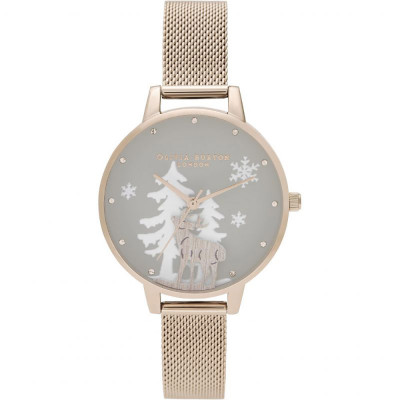 ساعت مچی زنانه اصل | برند اولیویا برتون | مدل OB16AW01