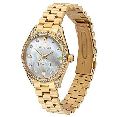 ساعت مچی زنانه اصل | برند پلیس |  مدل P 15691BSG-D28M