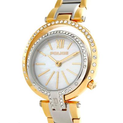 ساعت مچی زنانه اصل | برند پلیس |  مدل P 15697LSTG-D28M