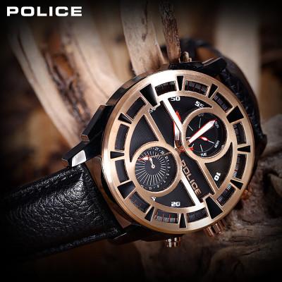 ساعت مچی مردانه اصل | برند پلیس | مدل P14338-JSBR02