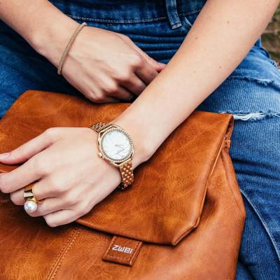 ساعت مچی زنانه اصل | برند پیرکاردین | مدل PC902392F07
