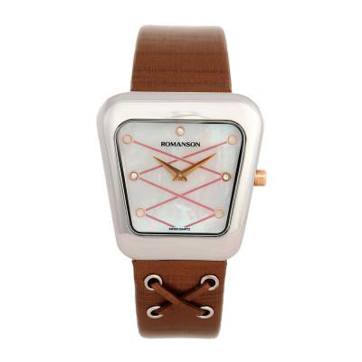 ساعت مچی زنانه اصل   برند رومانسون   مدل RL0369LL1JM16R