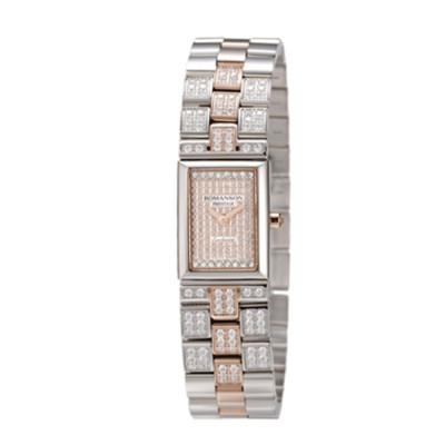 ساعت مچی زنانه اصل | برند رومانسون | مدل RM3255QL1JAS6R