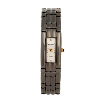 ساعت مچی زنانه اصل | برند رومانسون | مدل RM6419HL1B31W
