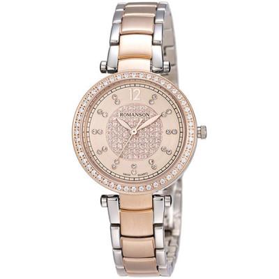 ساعت مچی زنانه اصل | برند رومانسون | مدل RM6A03QLJJACR1