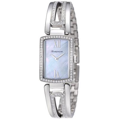 ساعت مچی زنانه اصل | برند رومانسون | مدل RM6A10QLWWM4R1
