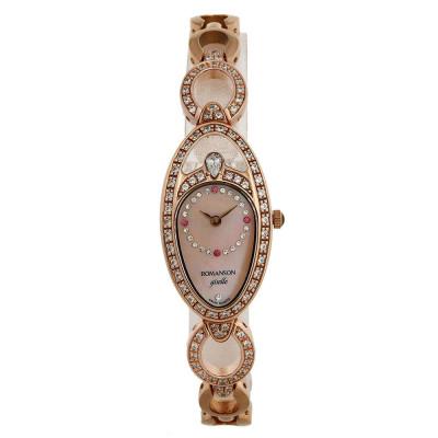 ساعت مچی زنانه اصل | برند رومانسون | مدل RM9207QL1RM18R