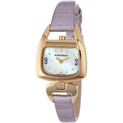 ساعت مچی زنانه اصل | برند رومانسون | مدل RN1206QL2GM11G
