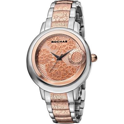 ساعت مچی زنانه اصل | برند روشاس | مدل RP1L014M0091