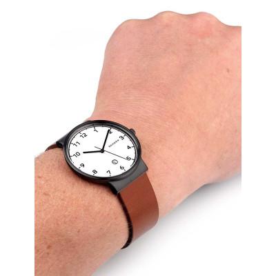 ساعت مچی مردانه اصل | برند اسکاگن | مدل SKW6297