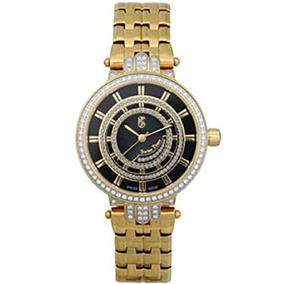 ساعت مچی زنانه اصل |برند سوئیس تایم | مدل ST-301-GP/Bl