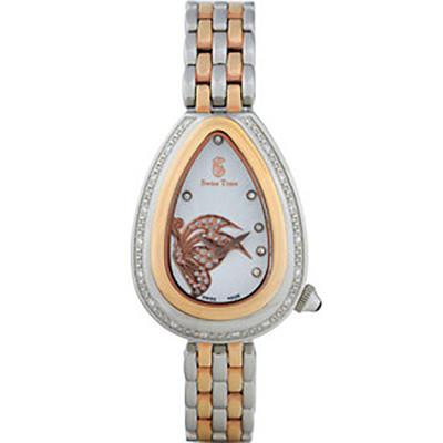 ساعت مچی زنانه اصل |برند سوئیس تایم | مدل ST-380-TTRG/Wh
