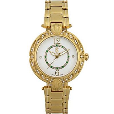 ساعت مچی زنانه اصل |برند سوئیس تایم | مدل ST-391-GP/Wh