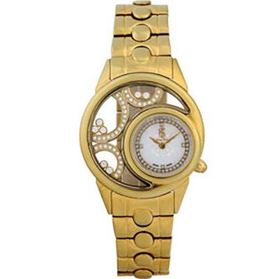 ساعت مچی زنانه اصل |برند سوئیس تایم | مدل ST-565-GP