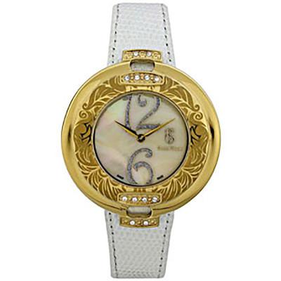 ساعت مچی زنانه اصل |برند سوئیس تایم | مدل ST-725-GPWhi/Ye